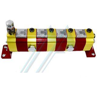 Flow divider RV-0S/0.25x4+D