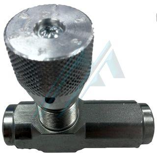Hydraulic flow regulator