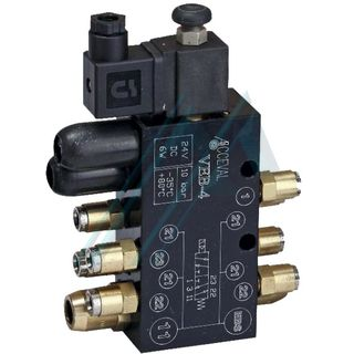 Pneumatic valve EBV-4 Acceval