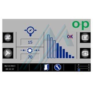Sistema di controllo pressione O+P