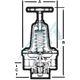 Regulador de presión Parker R119G04C