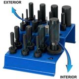 """Outside stripping tool Ø 1/4 """"for SPF1 and SPF2 / E O + P peelers"""