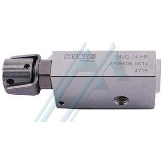 Pressure relief valve type MVG
