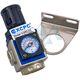 "Pressure regulator pneumatic 1/4"" with pressure gauge XGR2-02"