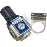 "Pressure regulator pneumatic 1/2"" with pressure gauge XGR3-04"