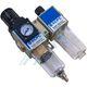 "Filtration equipment F + R + L 1/8 ""with pressure gauge XGWL2-01"