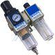 "Filtration equipment F + R + L 1/4 ""with pressure gauge XGWL2-02"
