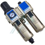 "Filtration equipment F + R + L 1/2 ""with pressure gauge XGWL3-04"