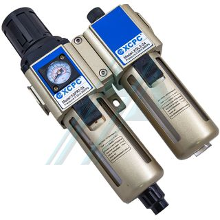 "Filtration equipment F+R+L 1/2"" with pressure gauge XGWL3-04"
