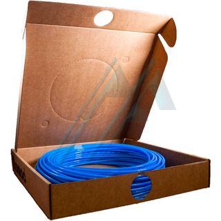 Blue polyurethane tube pack