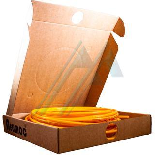 Pack tube of polyamide yellow