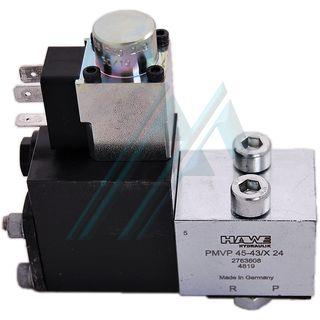Relief valve proportional pressure plate mount PMVP