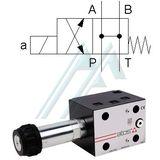 Solenoid valve ATOS DKE NG 10 DC