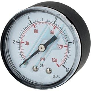 "Pressure gauge Ø 53 0-4 Kg rear thread 1/4 """
