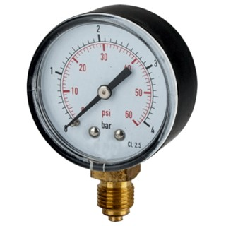 Pressure gauge Ø 53 of 0-2.5 Kg vertical thread 1/4 ""