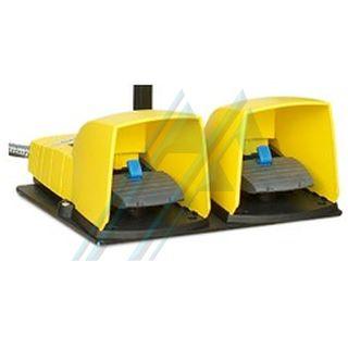 Pedal doble con pulsador de emergencia para prensas TUBOMATIC O+P