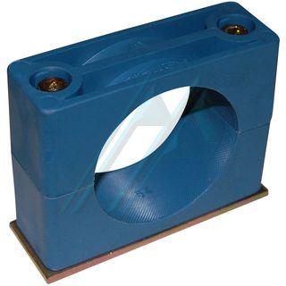 Plastic bracket ø 65 for hydraulic tube