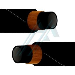 """3/8 """"medium pressure hydraulic hose reinforced with a single textile braid"""