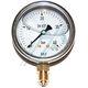 Pressure gauge ø 63 with glycerin, 0-40 kg vertical outlet