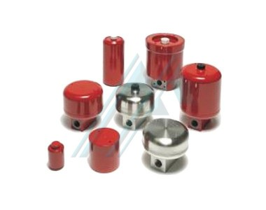 Accumulators metal bellows