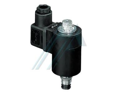 Solenoid valves in-line