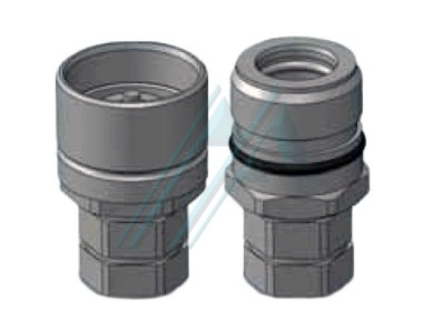 Fast couplings threaded