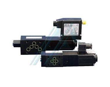 Pressure-reducing valves for modular ATOS