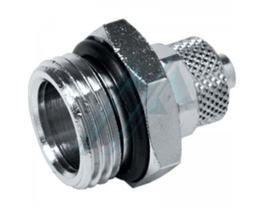Nickel-plated brass quick fittings